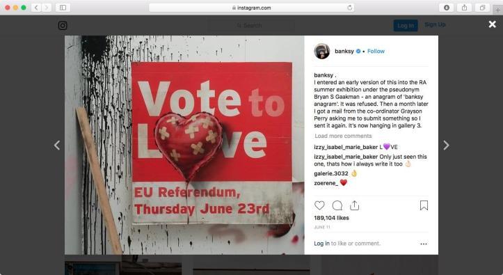 Banksy Referendum